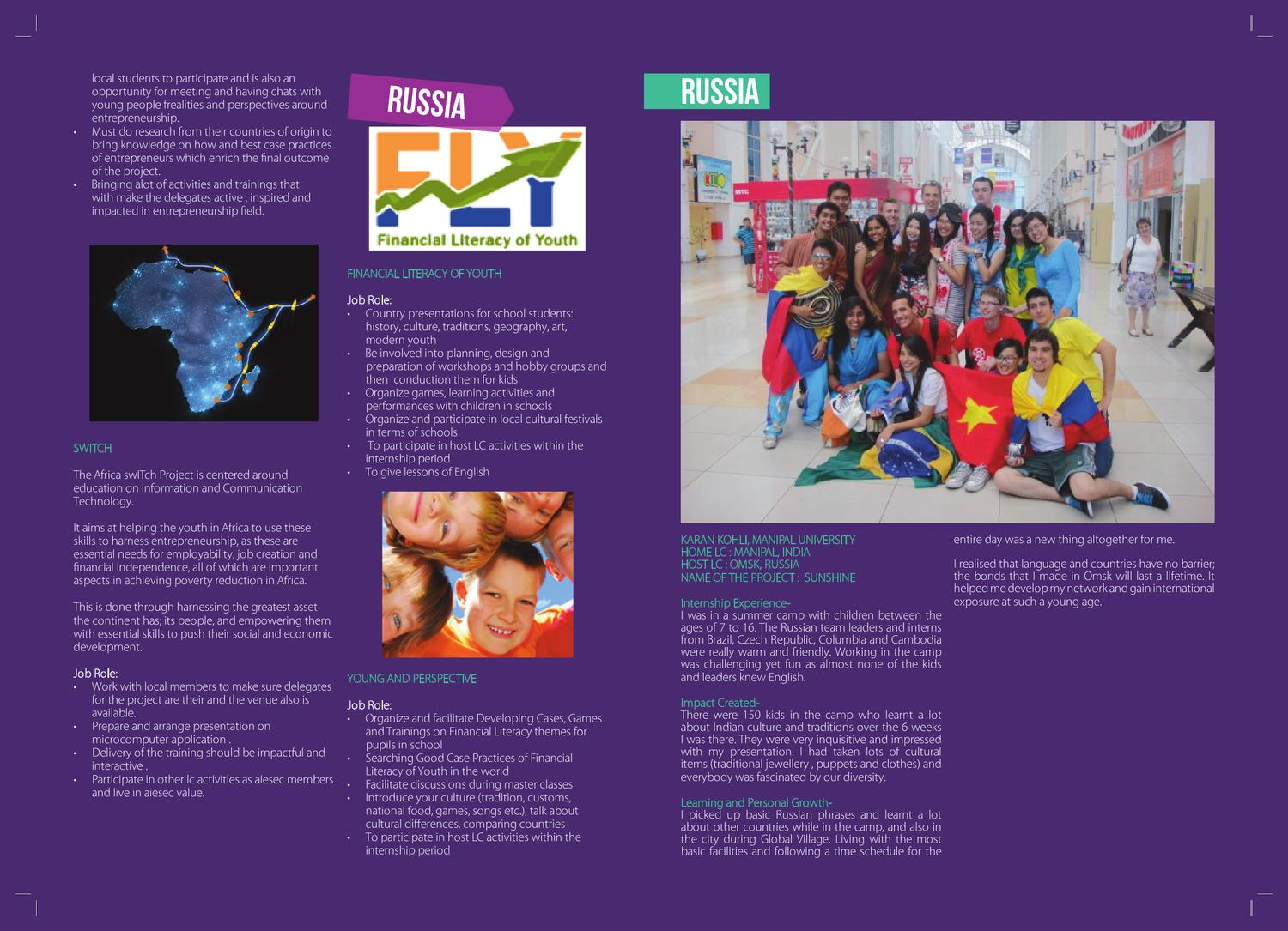 Global Entrepreneurs Programme by AIESEC in India - issuu