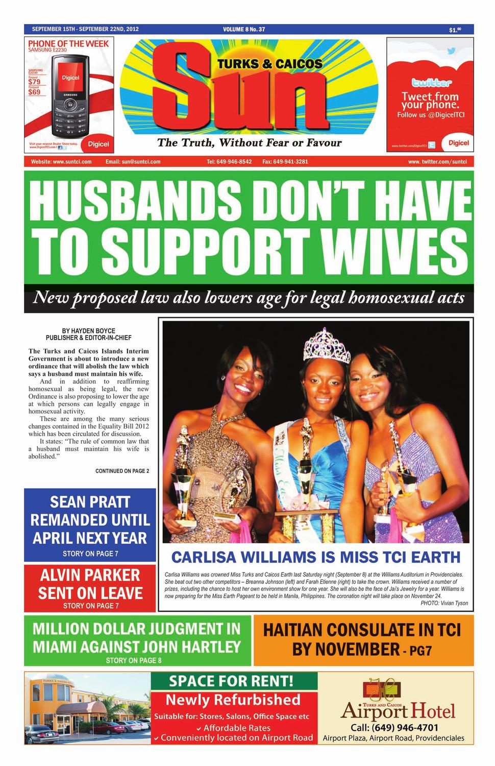 Volume 8 Issue 37 by The SUN Newspaper - issuu
