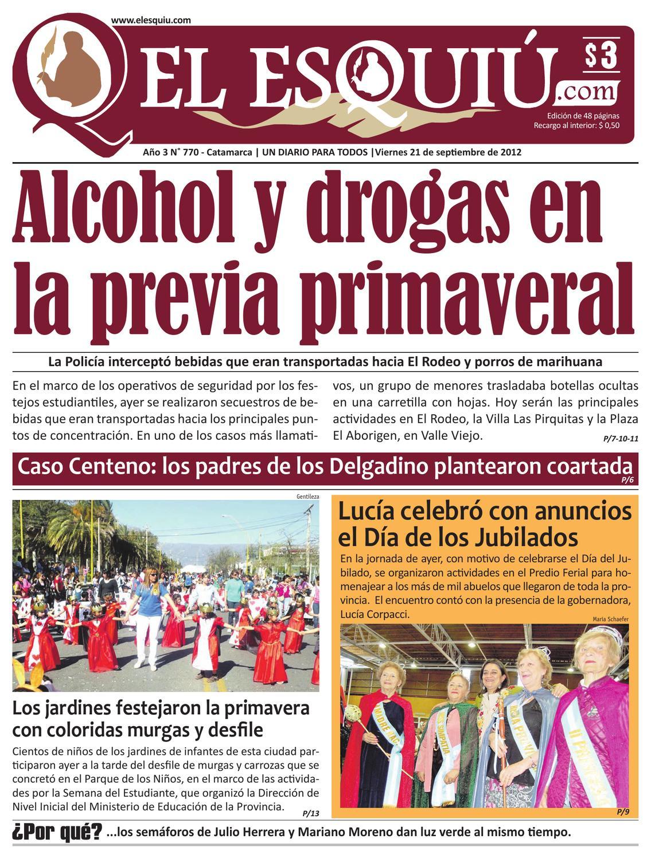 El Esquiu Com Viernes 21 De Septiembre De 2012 By Editorial El  # Muebles Yoma Antofagasta