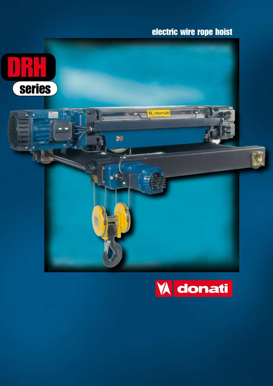 Donati DRH Wire Rop Hoist by NQCranes - issuu