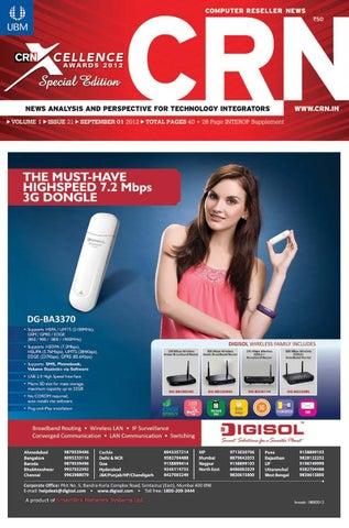 CRN - September 1, 2012 by UBM India - issuu