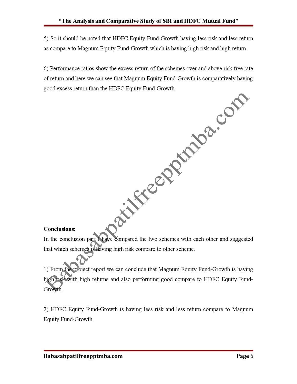 risk return analysis of securities