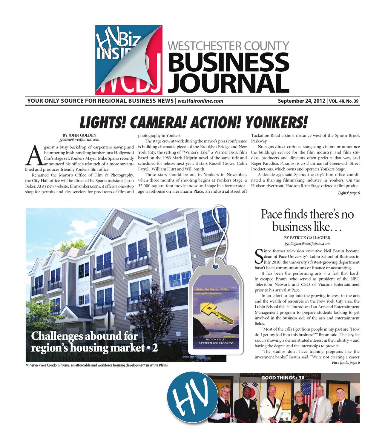 Westchester County Business Journal 9 24 2012 Issue by Wag Magazine