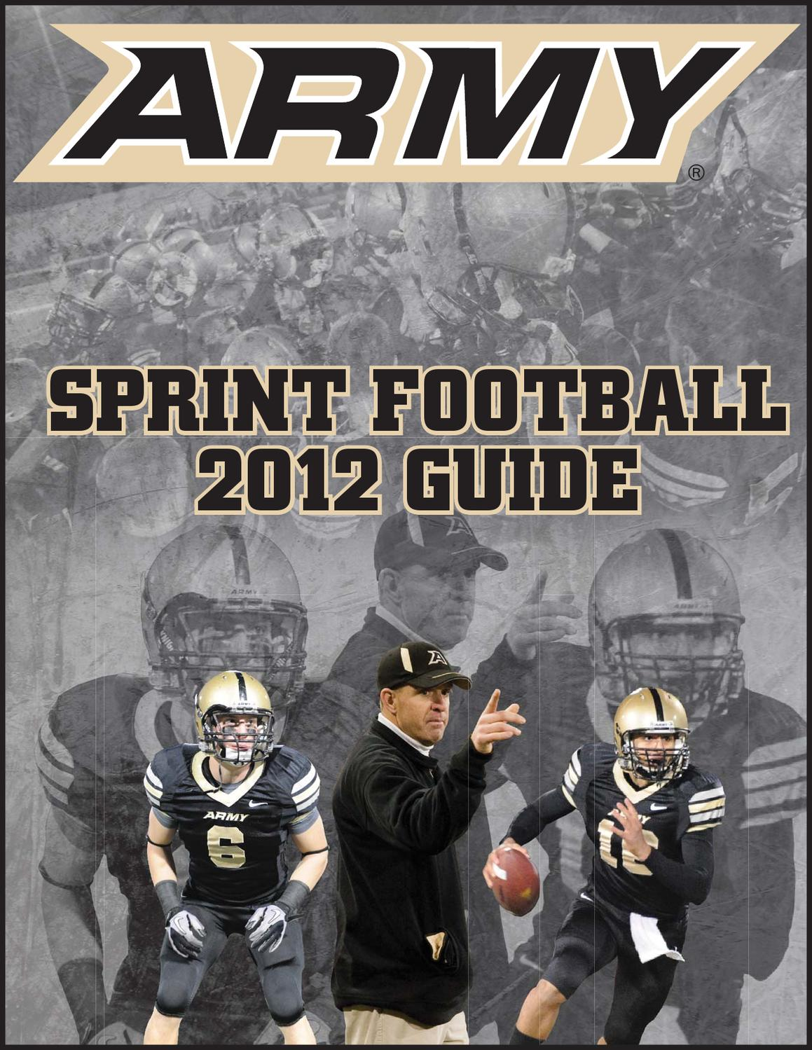 23d7979c4d05 2012 Sprint Football Guide by Army West Point Athletics - issuu