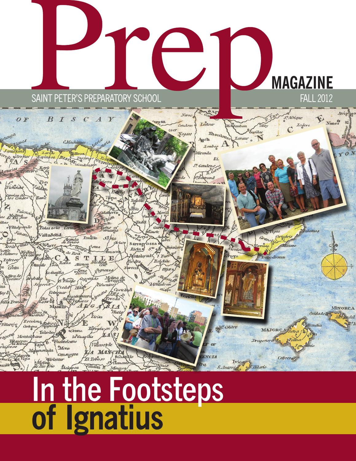 Prep Magazine Fall 2012 by Saint Peter's Prep - issuu