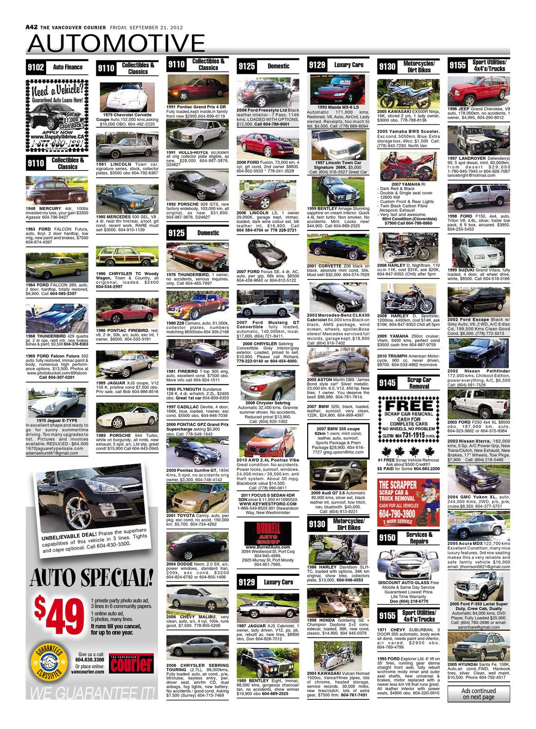 Vancouver Courier September 21 2012 by Glacier Digital - issuu