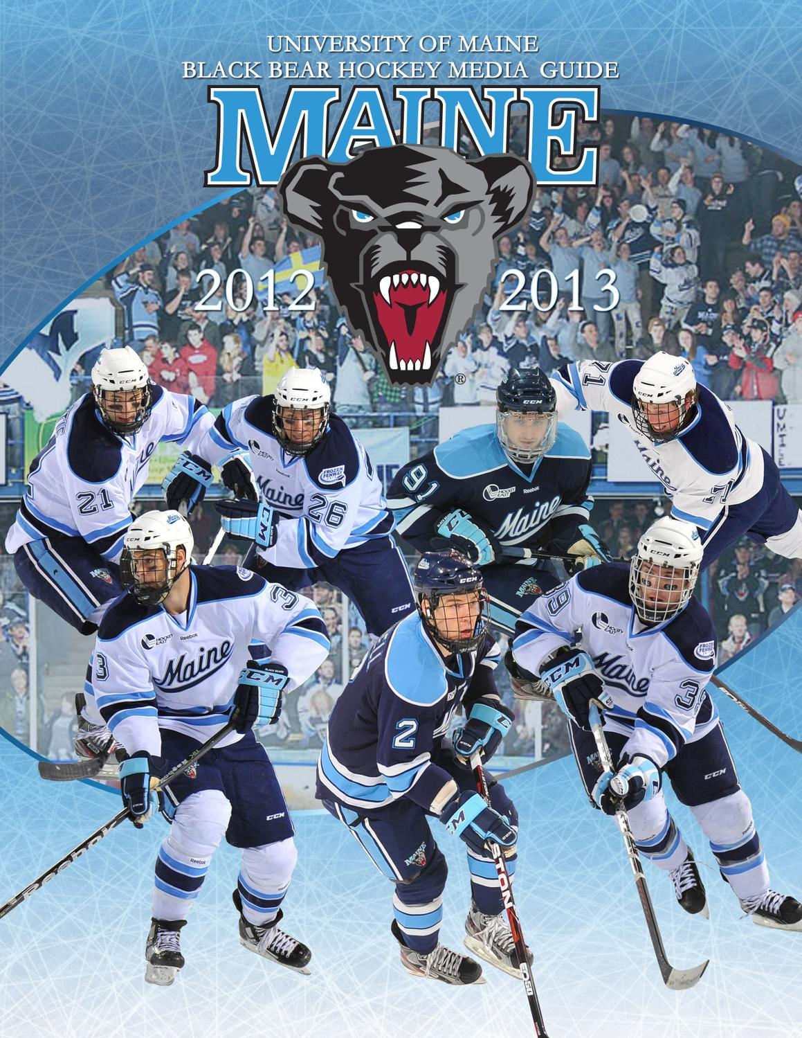 2012-2013 Maine Men s Ice Hockey Guide by University of Maine Athletics  Department - issuu fe4a0b5c6
