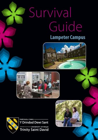 Lampeter Campus Student Survival Guide By University Of Wales