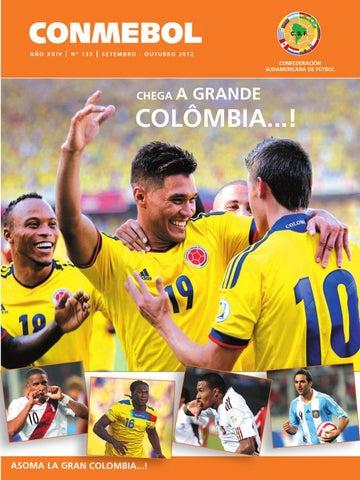 883a4142e02d1 Revista Conmebol Nº 133 - sep oct 2012 - español portugués by ...