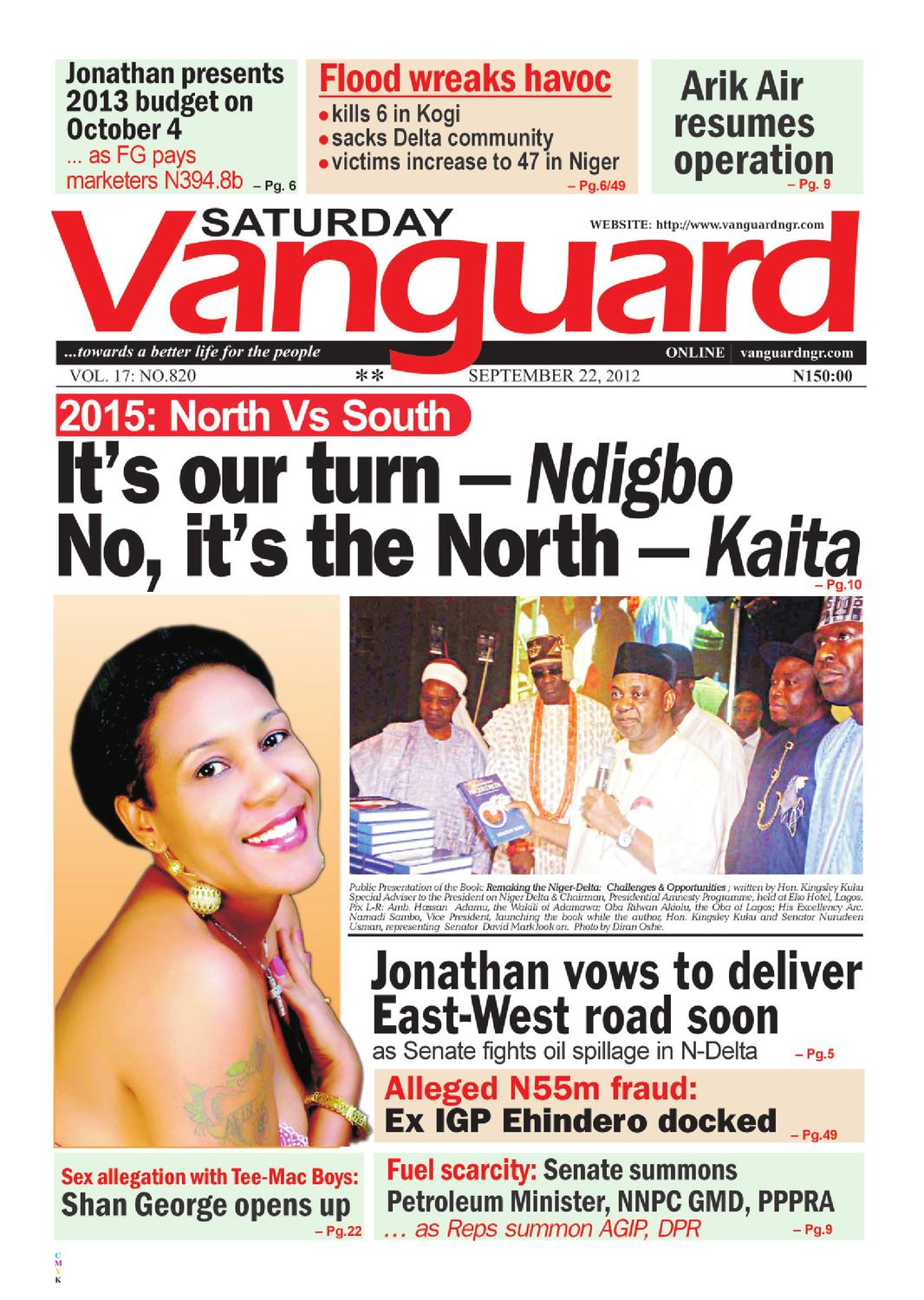 it's our turn - Ndigbo, No, it's the north - Kaita by