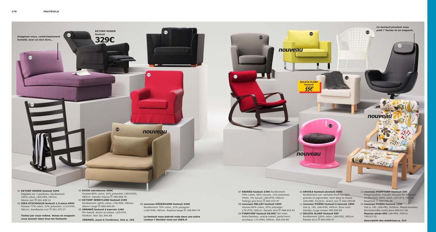 Ektorp Muren Fauteuil.Ikea Catalogue France 2013 By Promocatalogues Com Issuu