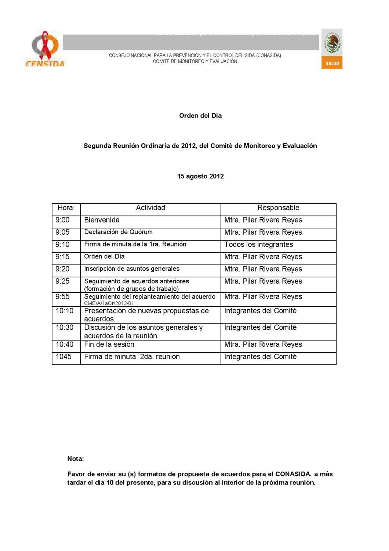 .modelo de convocatoria de junta directiva