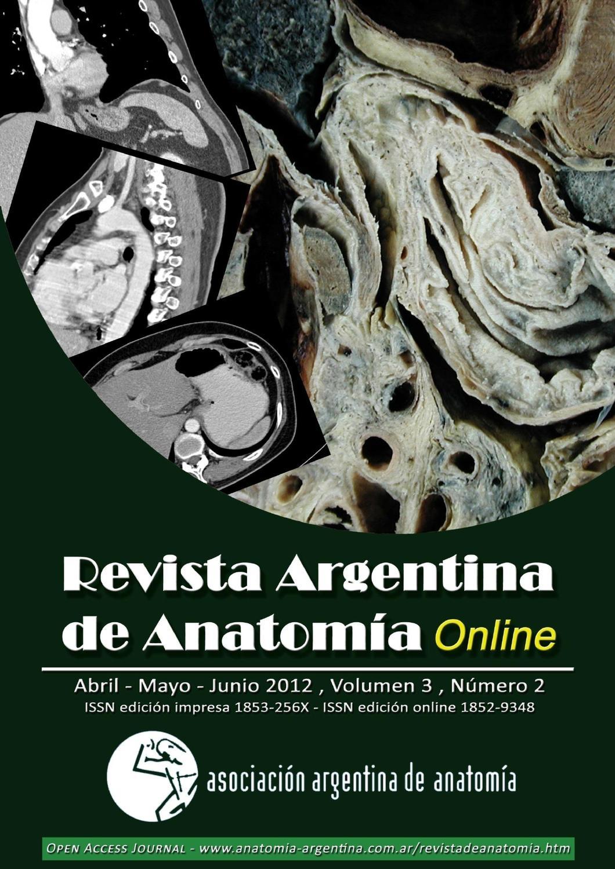 Revista Argentina de Anatomía Online 2012; 3(2):29-60. by Nicolas ...