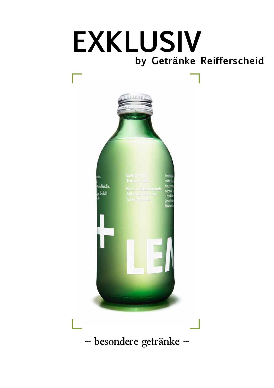 EXKLUSIV - by Getränke Reifferscheid by Getraenke Reifferscheid - issuu