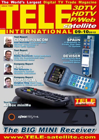 eng TELE-satellite 1209 by Alexander Wiese - issuu