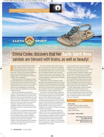 Earth Spirit Road Test by Emma Cooke issuu