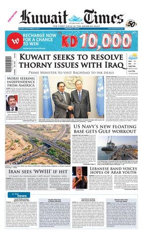 24th Sep By Kuwait Times Issuu