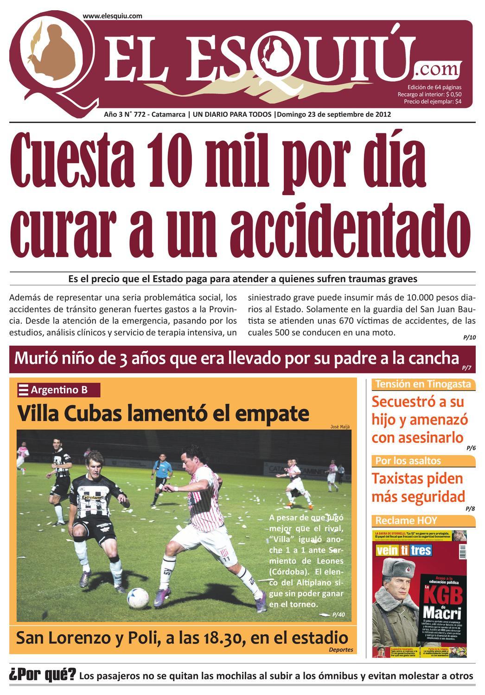 El Esquiu Com Domingo 23 De Septiembre De 2012 By Editorial El  # Muebles Yoma Antofagasta