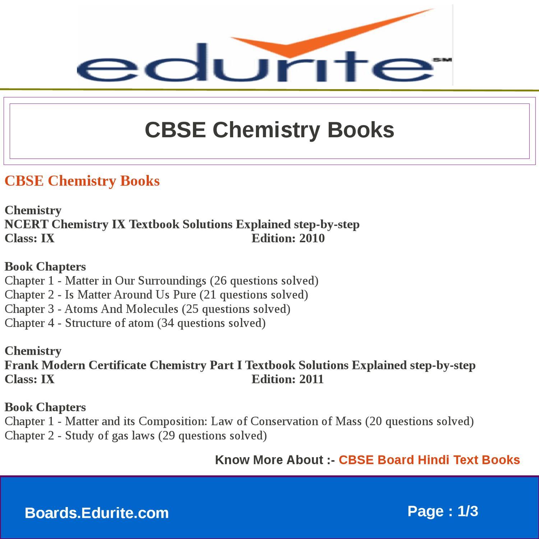 CBSE Chemistry Books by gaurav saini - issuu