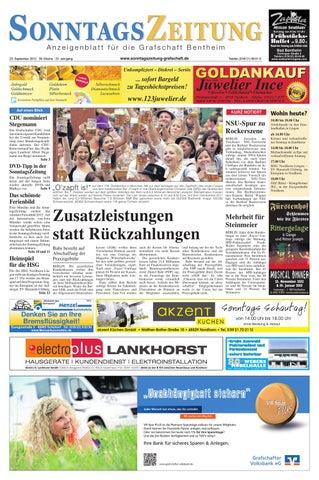 Len An Dachschrä sonz 23 09 2012 by sonntagszeitung issuu