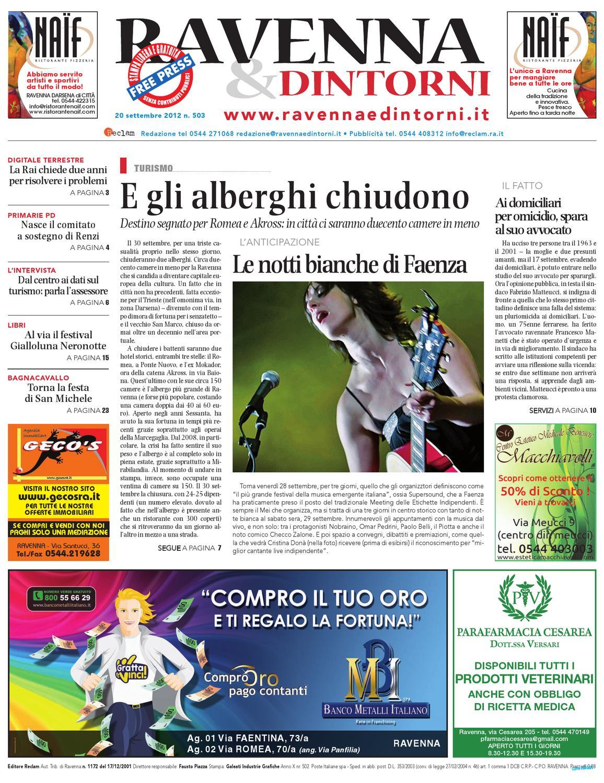 Rd 20 09 12 By Reclam Edizioni E Comunicazione Issuu