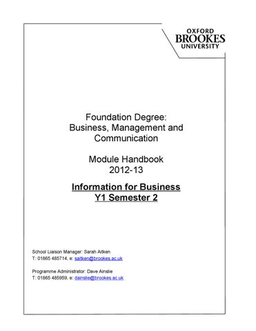 smtd module 1 foundation assignment Module 1 – concepts of information and communication technology (ict) in this module you can learn about different parts of a computer, as well as some of the key concepts of information and communication technology (ict), such as those relating to networks and security.