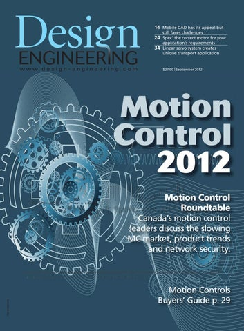 Design Engineering September 2012 by Annex Business Media