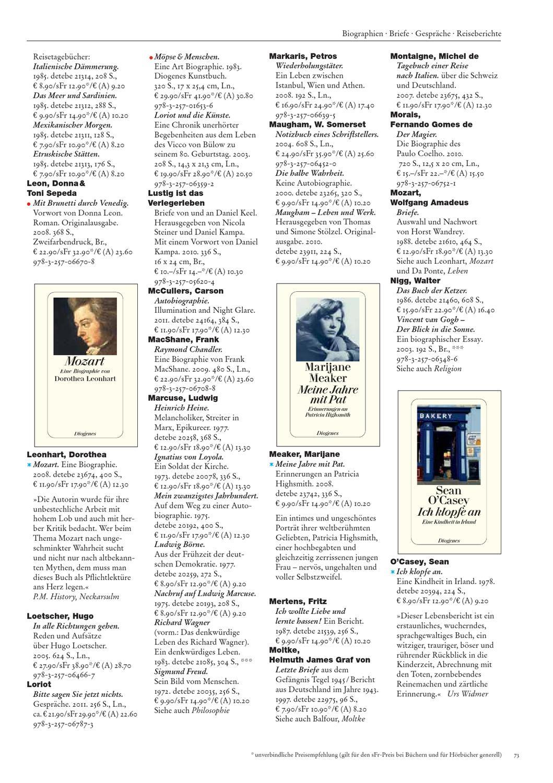 Diogenes Gesamtverzeichnis 2012 By Diogenesverlag Issuu
