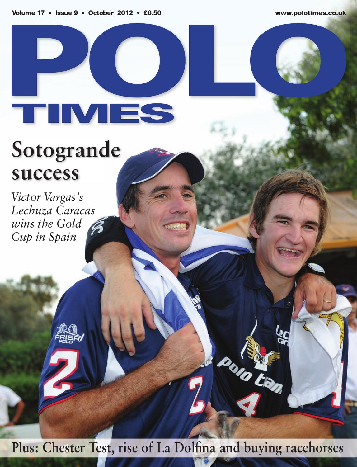 84a6dbb27027 Polo Times October 2012 by Edit - issuu