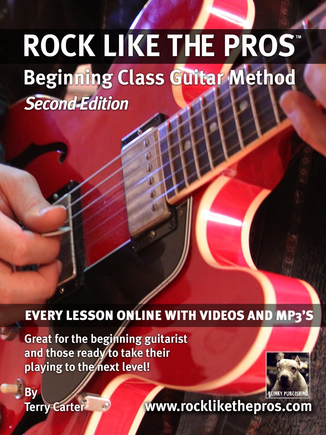 Rock Like The Pros Beginning Class Guitar Method Ch 1 3 By Chord Symble A7 Above A Bar It Means We Have To Play Terry Carter Issuu