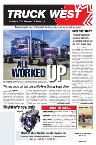 Truck West October 2012 by Annex Business Media - issuu on