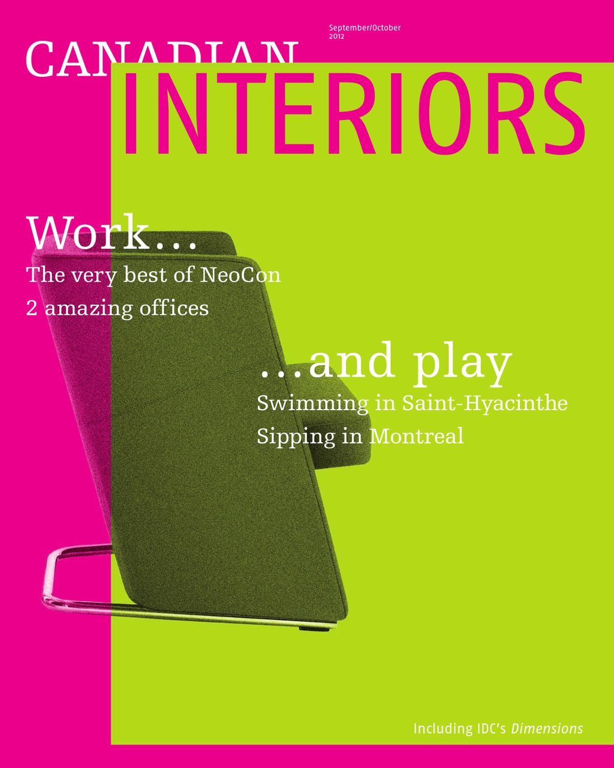 Canadian interiors september october 2012 by annex business media issuu