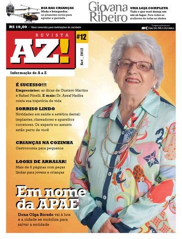 dbfd0951c03cd Revista AZ! - Décima segunda edição by Revista AZ! - issuu