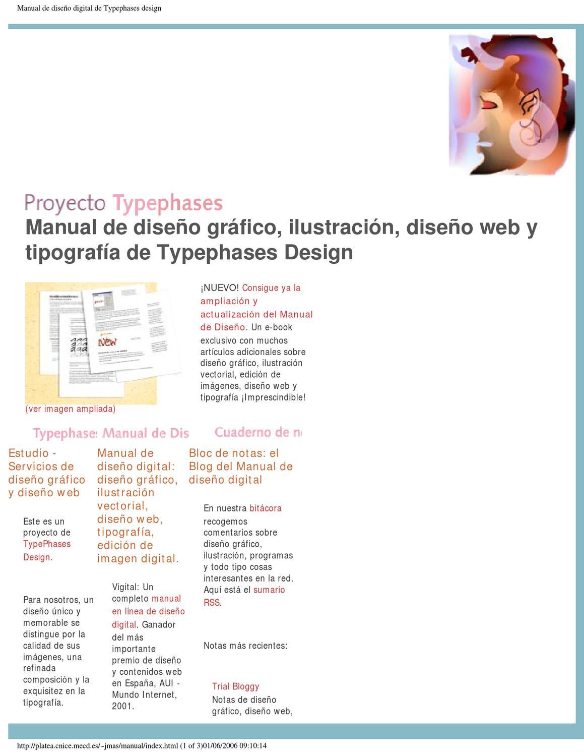 Manual de Design Gráfico e Ilustração - Tipografia by Glassmann ...