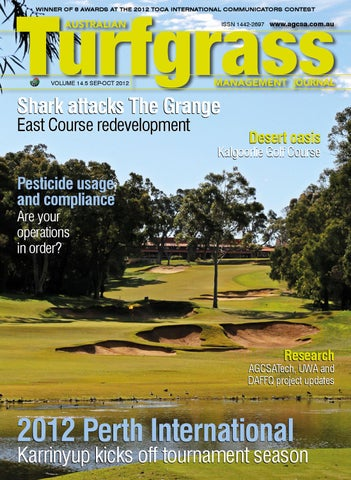 Surprising Australian Turfgrass Management Journal Volume 14 5 Alphanode Cool Chair Designs And Ideas Alphanodeonline