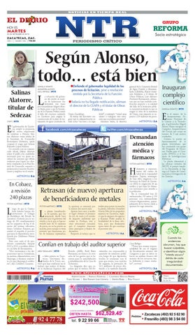El Diario NTR by NTR Medios de Comunicación - issuu 0d18354534d3