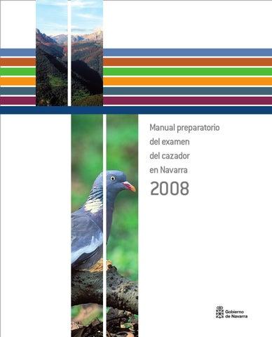 Manual cazador by medio ambiente navarra - issuu