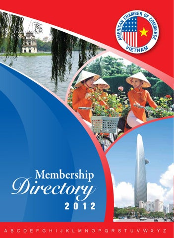 16dfbce7b37 AmCham Vietnam in HCMC - Membership Directory 2012 by Minh Le - issuu
