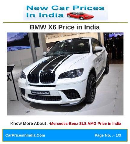 Bmw X6 Price In India By Manoj Kumar Issuu