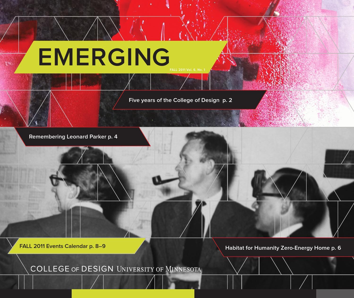 Umn Academic Calendar.Umn College Of Design Fall 2011 By University Of Minnesota College