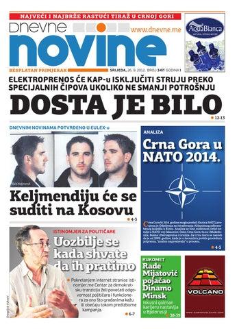 dc8cb35561f Izdanje 26. septembar 2012. by Dnevne Novine - issuu