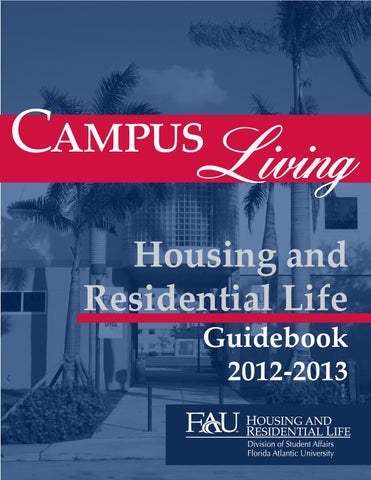 2012-2013 Housing Guidebook by Department of Housing and Residential on