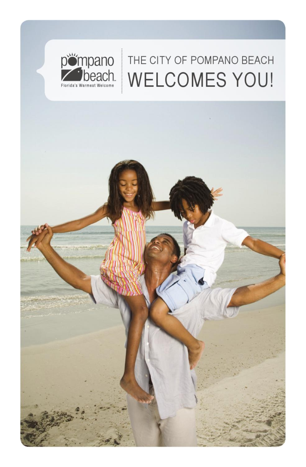 the city of pompano beach welcomes you by city of pompano beach