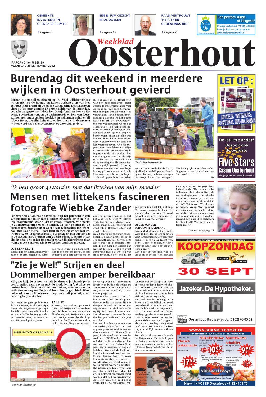 Weekblad oosterhout b 26 09 2012 by uitgeverij em de jong for Nassau indus deur bv oosterhout