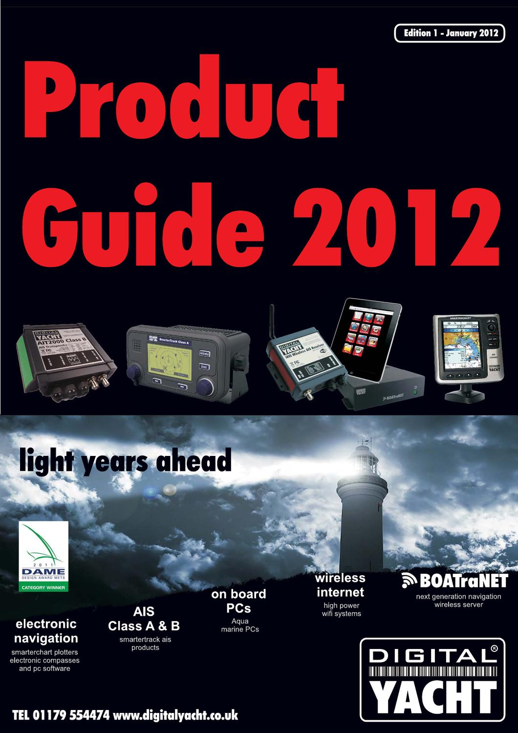 Digital Yacht Product Guide 2012 by ANROmarine com - issuu