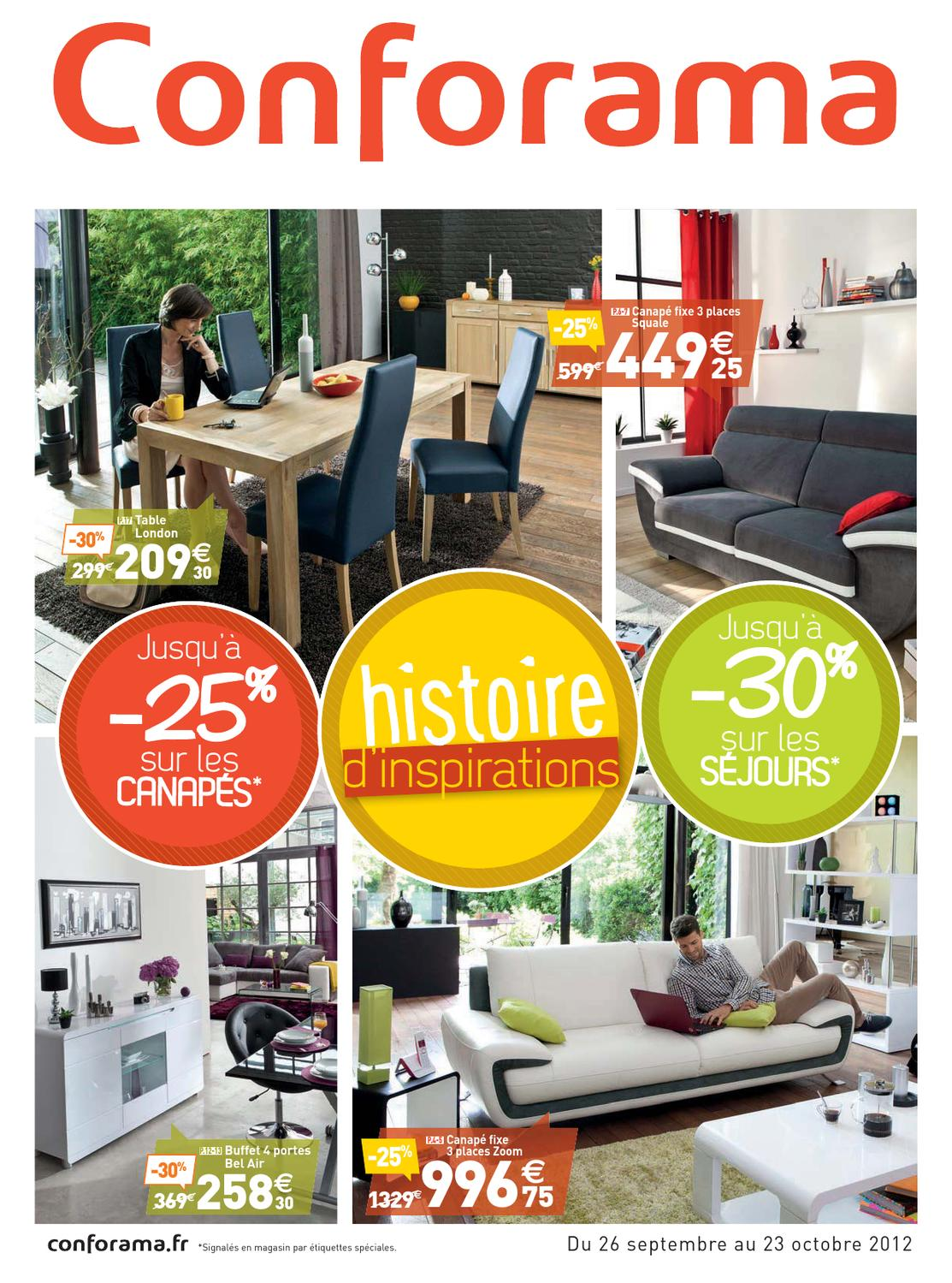 Conforama catalogue26 septembre 2012 by PromoCatalogues.com ...