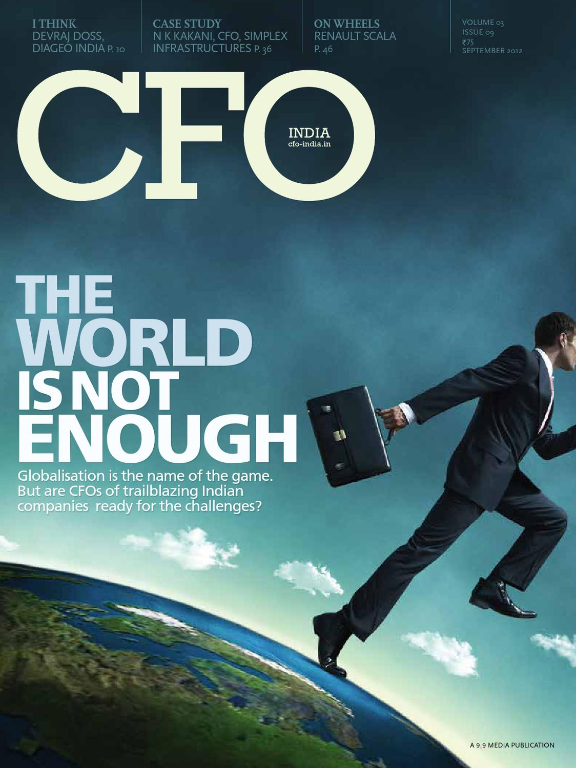 CFO India - September 2012 by Bhupinder Sharma - issuu