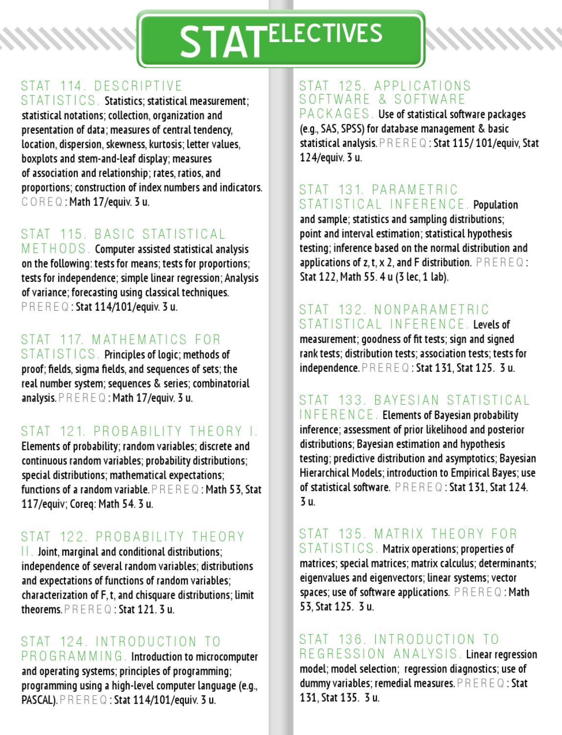 Electives 101 Primer 2012 by UP SESC - issuu
