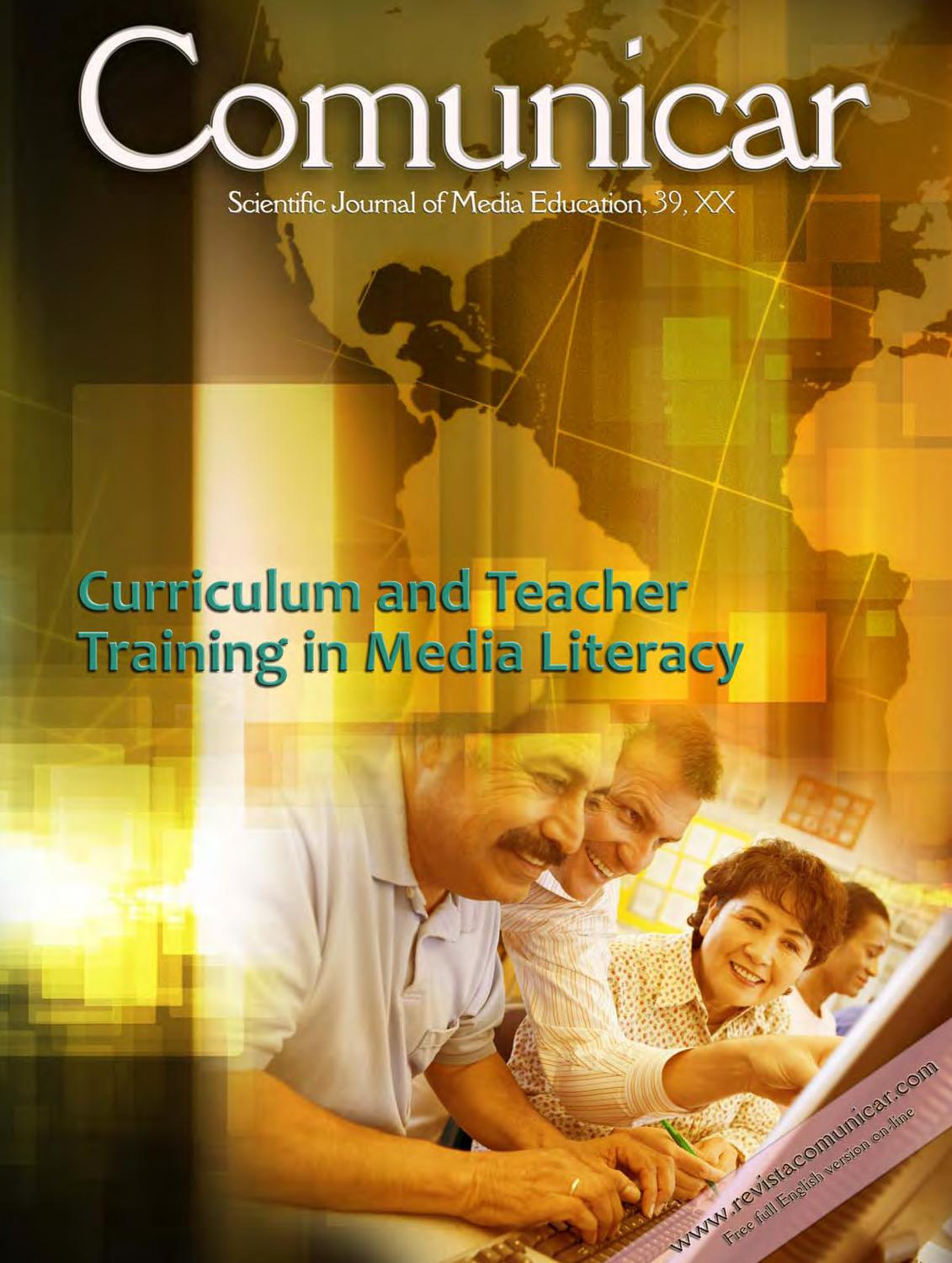 Comunicar Journal 39: Teachers Training in Media Literacy by Revista ...