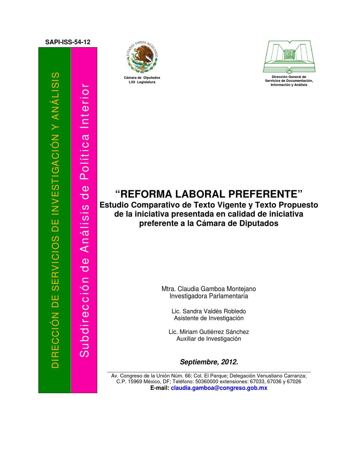 Estudio de la Reforma Laboral by A&N en México - issuu
